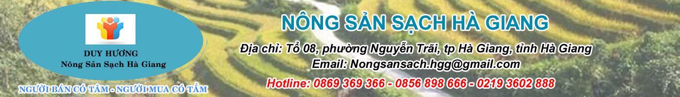 Nông Sản Sạch Hà Giang